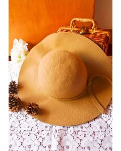 Chicwish Wool Blend Floppy Hat