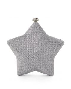 Twinkling Star Hardcase Clutch