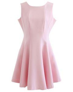 Pink Glory Skater Dress